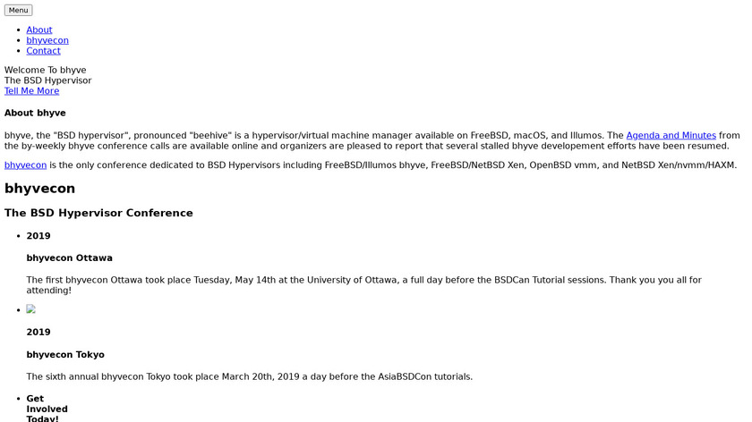 bhyve Landing Page