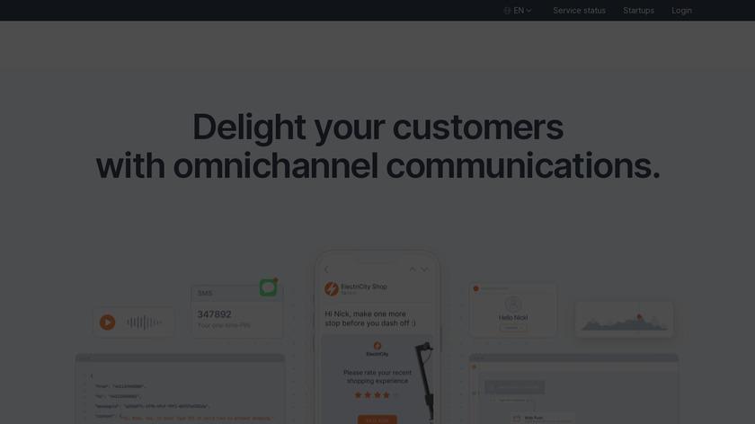 Infobip Landing Page