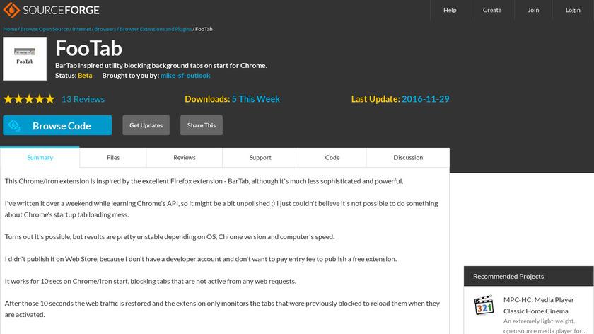 FooTab Landing Page