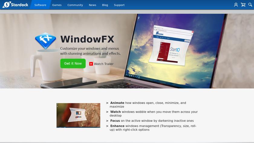 WindowFX Landing Page