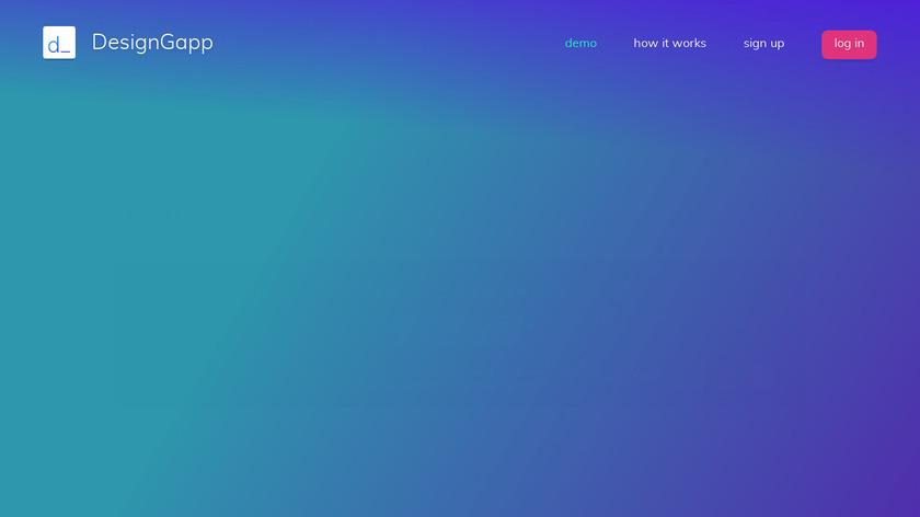 DesignGapp Landing Page