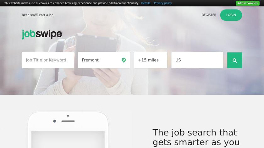 JobSwipe Landing Page