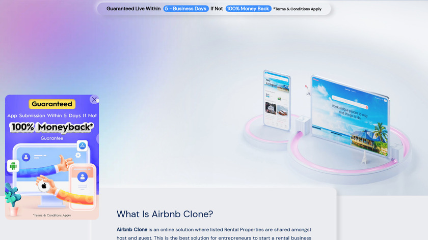 Makent by Trioangle Landing Page
