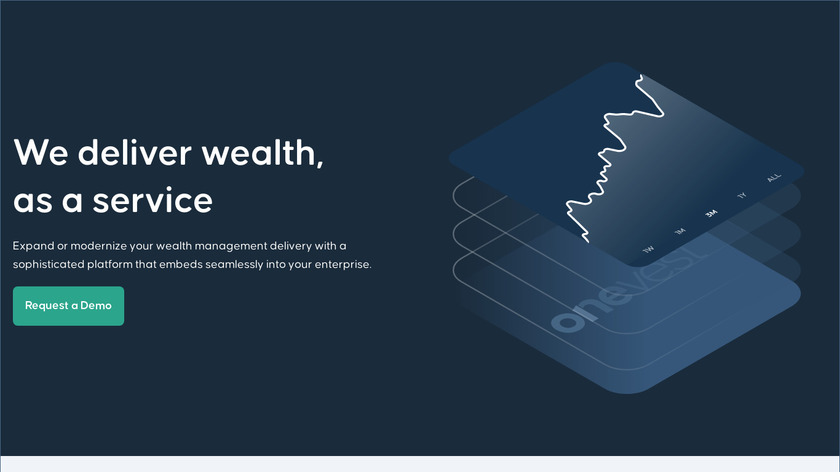 Onevest Landing Page