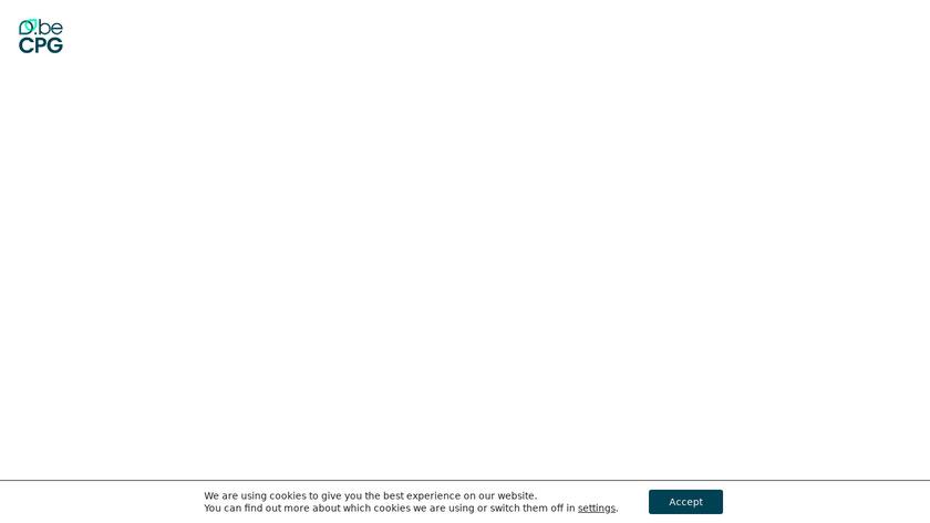 beCPG PLM Landing Page