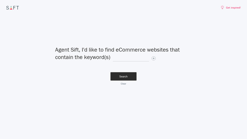 Agent Sift by PipeCandy Landing Page