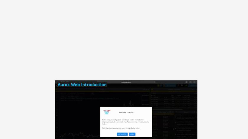 Aurox Landing Page