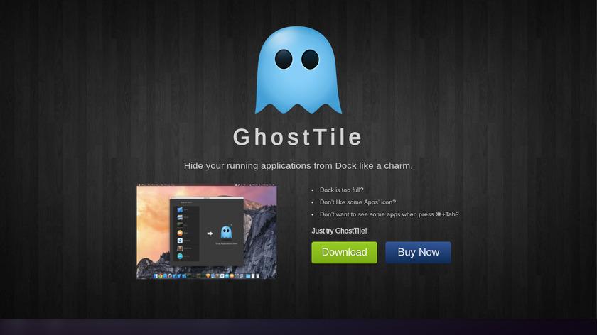 GhostTile Landing Page