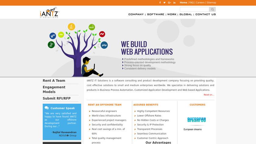 iWorkSync Ad Landing Page