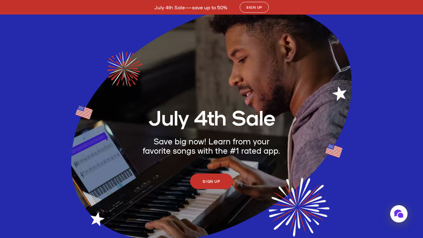 Playground Sessions Landing Page