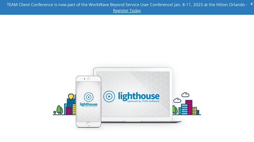 Lighthouse.io Landing Page