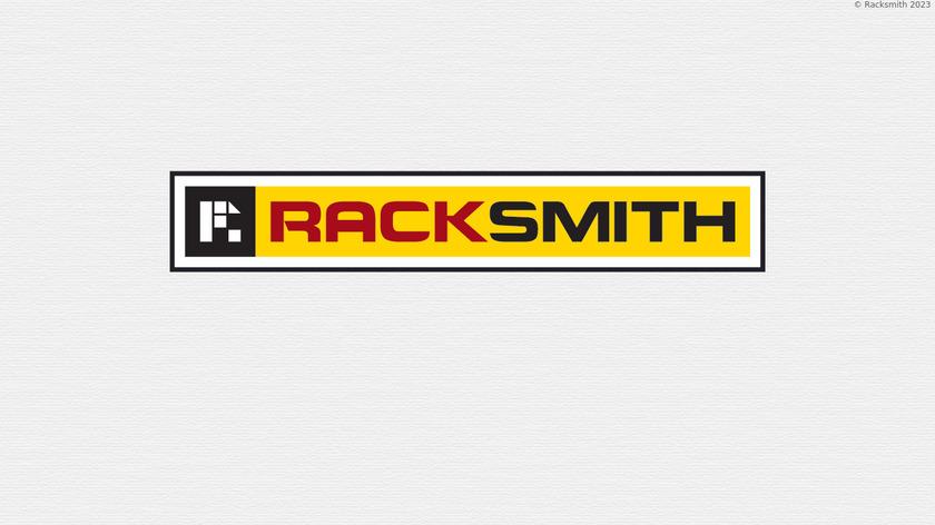 Racksmith Landing Page
