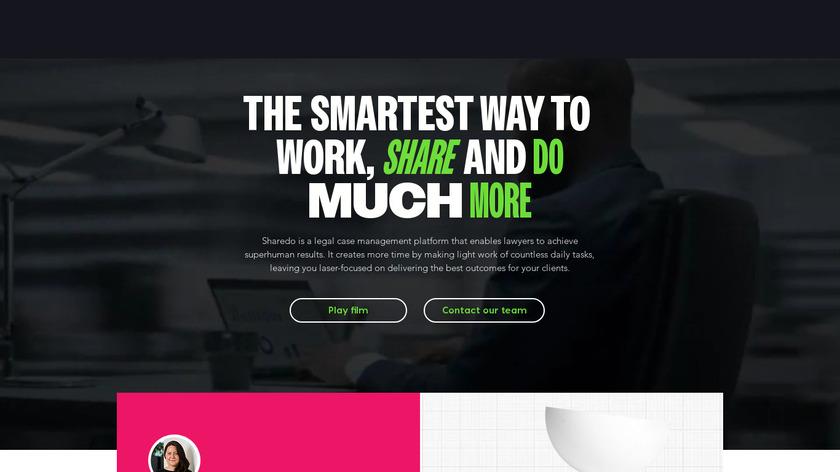 ShareDo Landing Page