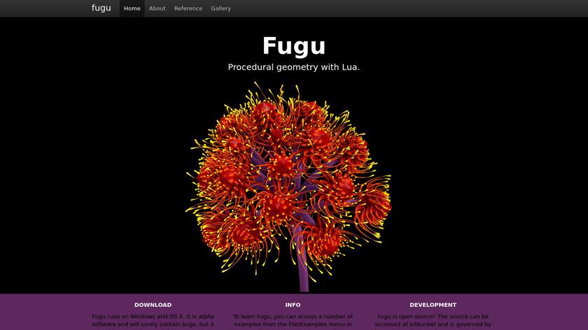 Fugu Modelling System Landing Page