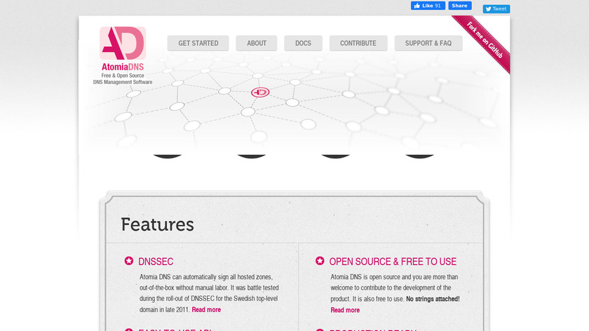 Atomia DNS Landing Page