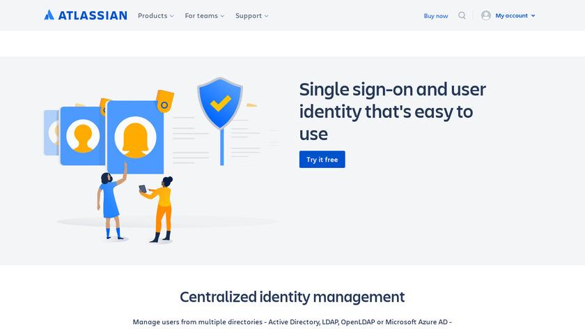 Atlassian Crowd Landing Page