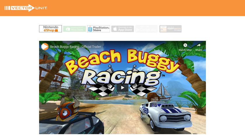 Beach Buggy Landing Page