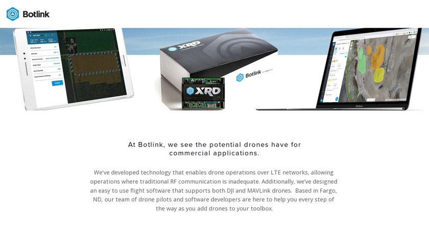 Botlink Landing Page