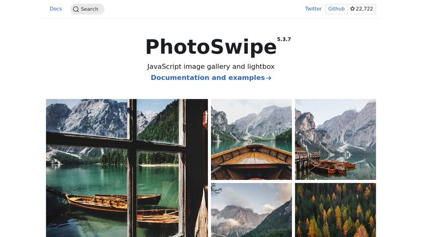 PhotoSwipe Landing Page