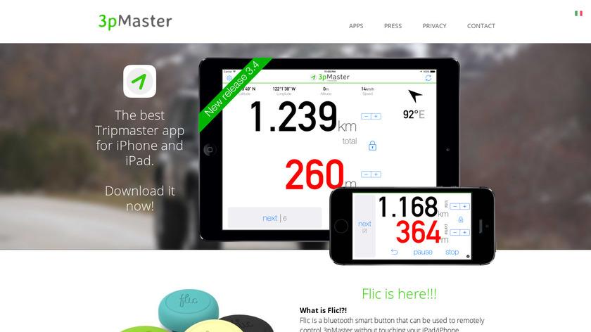 3pMaster Landing Page