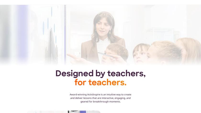 ActivInspire Landing Page