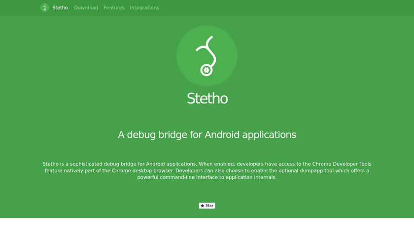 Stetho Landing Page