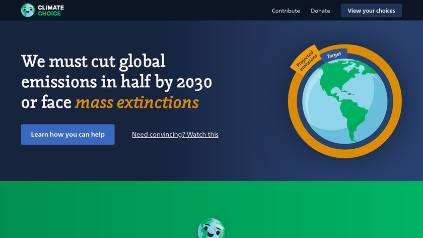 ClimateChoice Landing Page