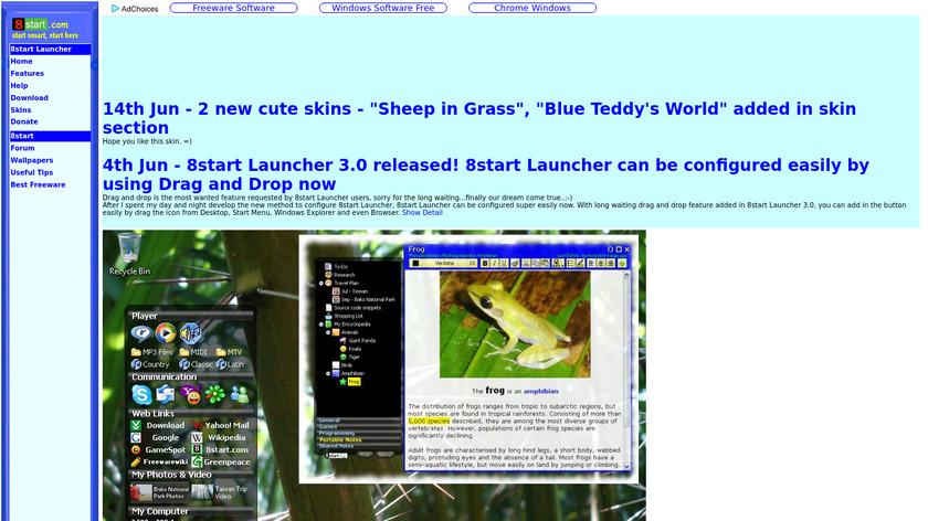 8start Landing Page