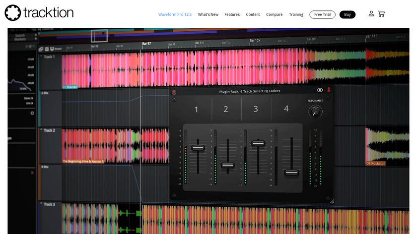 Waveform Landing Page