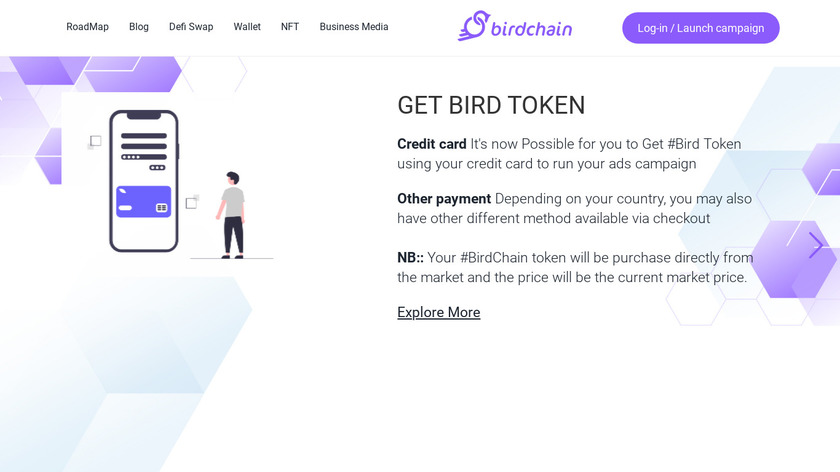 Birdchain Landing Page