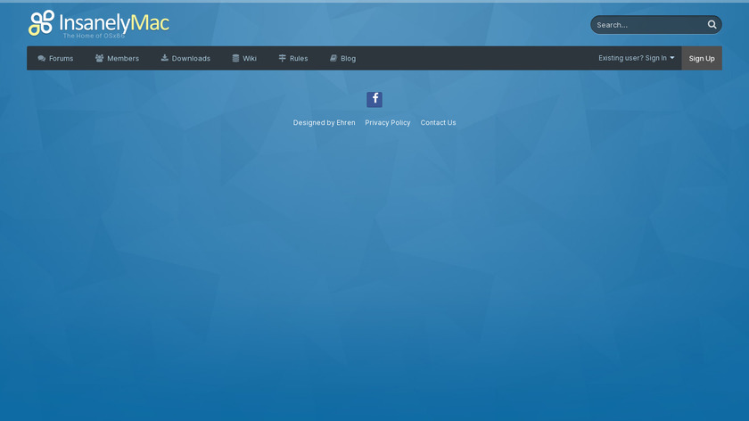 InsanelyMac Landing Page