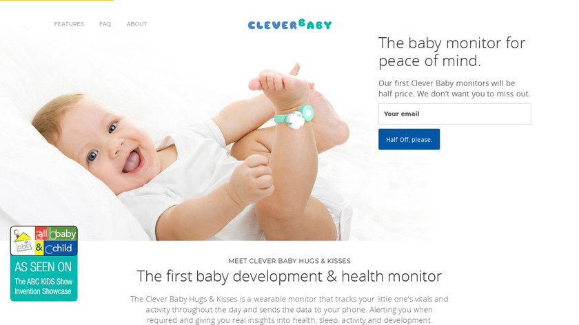 Clever Baby Landing Page