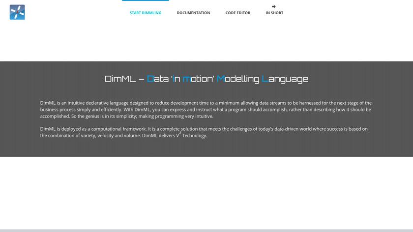 DimML Landing Page