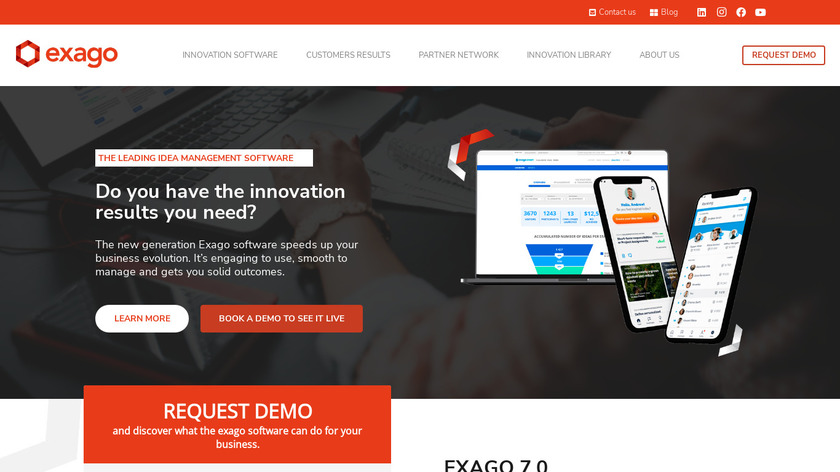 Idea Market Landing Page