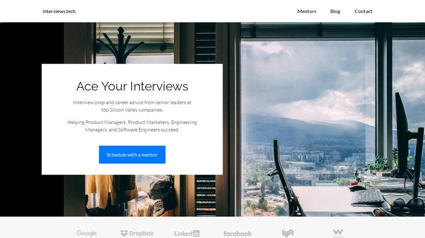 interviews.tech Landing Page