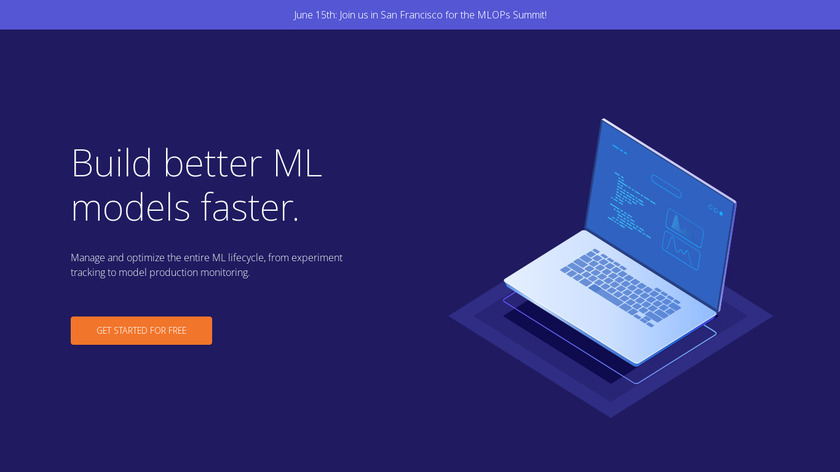 Comet.ml Landing Page