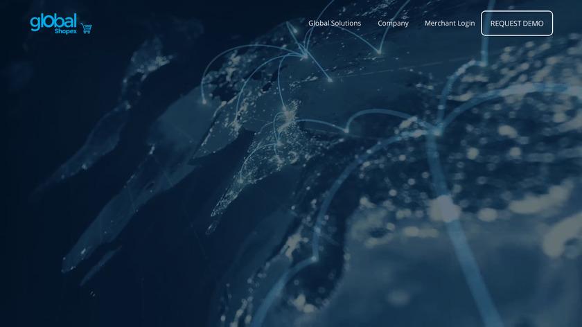 GlobalShopex Landing Page
