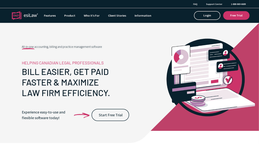 ESILAW Landing Page