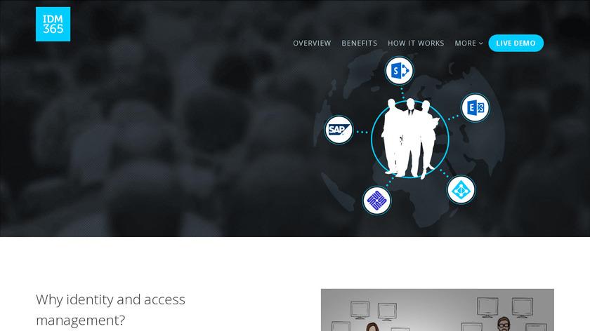 IDM365 Landing Page