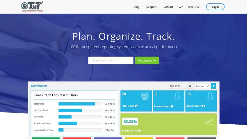TimenTask Landing Page