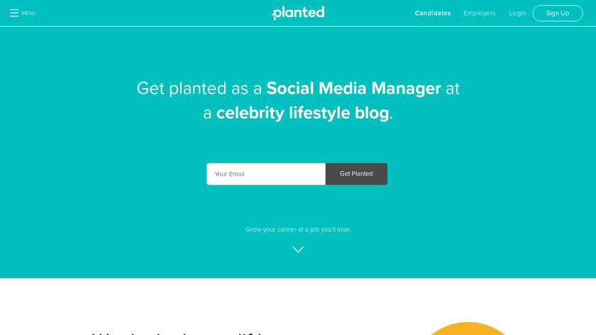Planted Landing Page