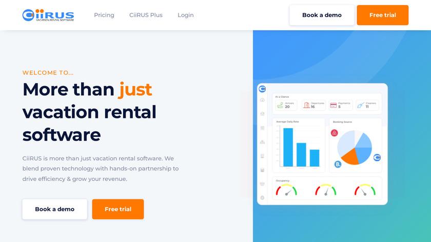 CiiRUS Landing Page