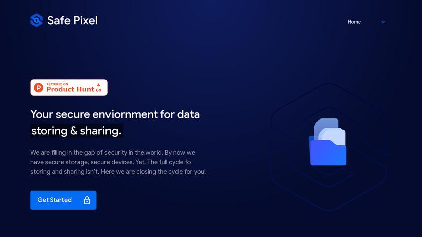 Safe Pixel Landing Page