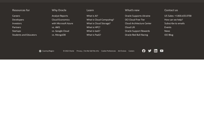 DataScience Landing Page