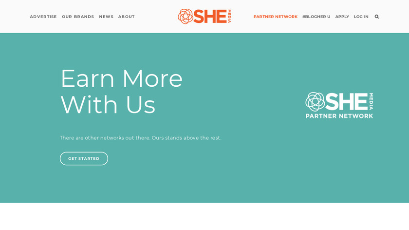 BlogHer Publishing Network Landing Page