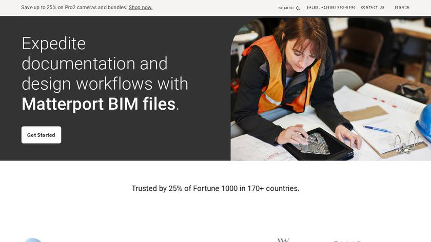 Matterport 3D Showcase Landing Page