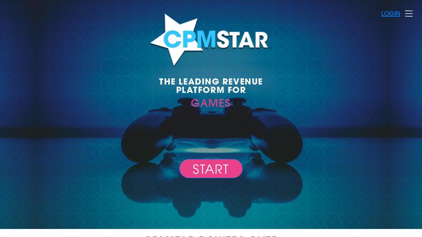 CPMStar Landing Page