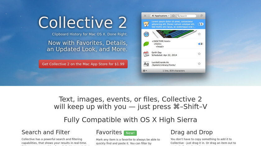 Collective Landing Page