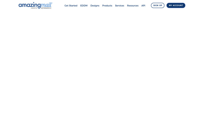 AmazingMail Landing Page