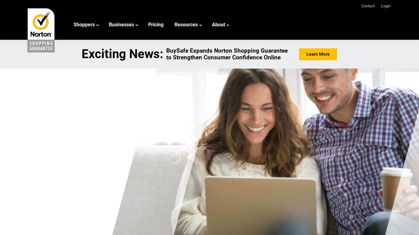 Norton Shopping Guarantee Landing Page